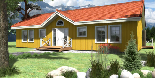 Prefabricated house 106