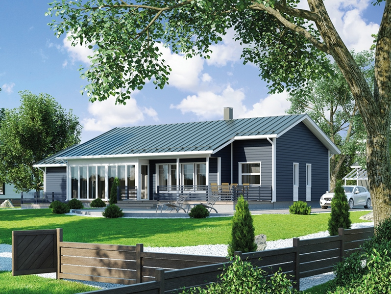 Prefabricated house 108