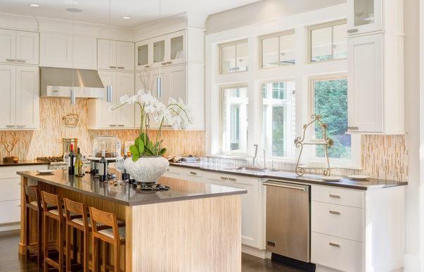 Kitchen in New Luxury Home